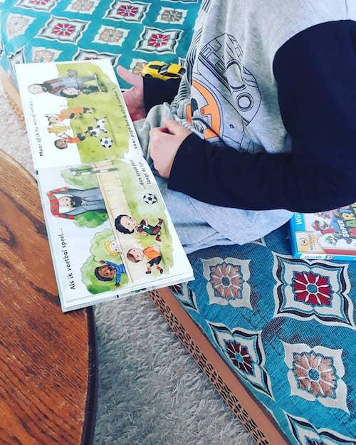 Kinderboek Moessie - Papa is mijn beste vriend.